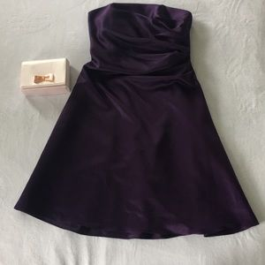 Alfred Angelo bridesmaid dress in Eggplant
